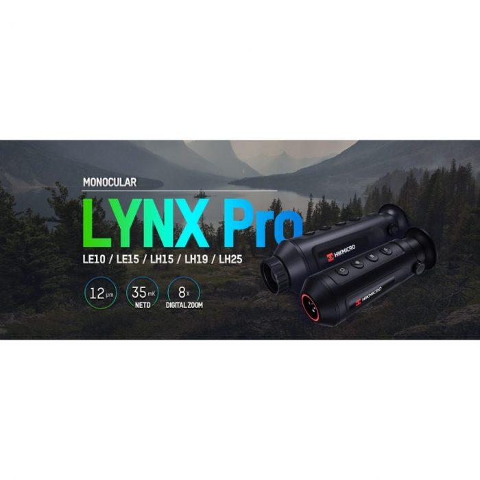Термална камера HIKMICRO Lynx Pro LH19, 12 Micron, 384×288, 19mm, 50Hz