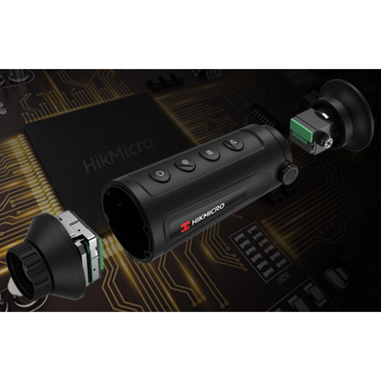 Термална камера HIKMICRO Lynx Pro LH25, 12 Micron, 384×288, 25mm, 50Hz
