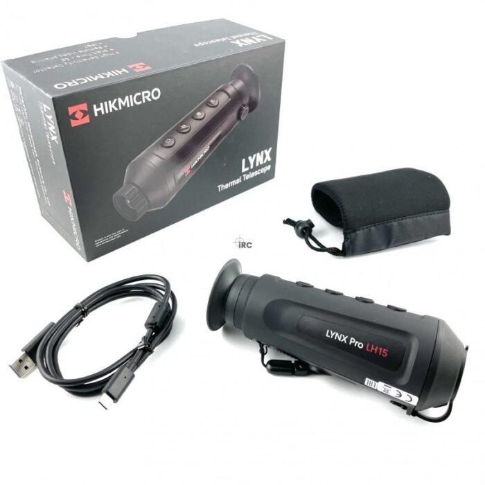 Термална камера HIKMICRO Lynx Pro LE10, 12 Micron, 256×192, 10mm, 25Hz